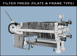 Filter Press (Plant & Frame Type)